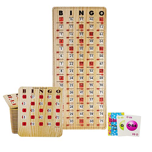 Mr. Chips Complete Bingo Game w/25 Economy JAM Proof Shutter Cards, Inc