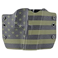 Green & Black USA OWB Holster (Right-Hand, FN FNX 45 Tactical)