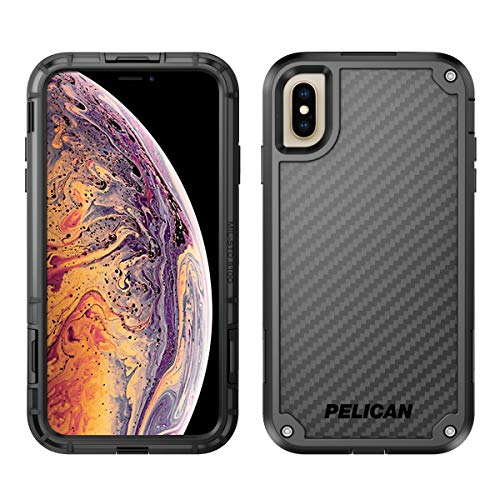 Pelican Shield iPhone XS Max Case with Kevlar brand fibers (Black)