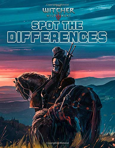 The Witcher Spot The Difference: Impressive Adult Activity Spot-the-Differences Books For Men And Women