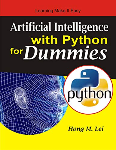 Artificial Intelligence with Python for Dummies Front Cover