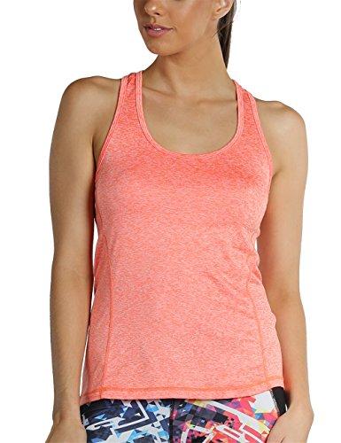 icyzone Débardeur de Sport Femme Dos Nageur Yoga Shirt...