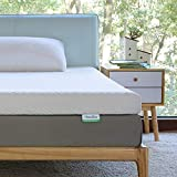 Novilla Full Size Mattress Topper, 3 Inch Dual LayerMemory Foam Mattress Topper Enhance Cooling,Supportive & Pressure Relieving,with Washable Bamboo Cover,Full Size
