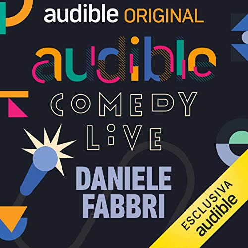 Audible Comedy LIVE #8 copertina
