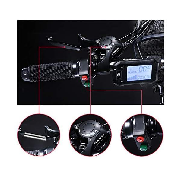 51 VP2pzMWL. SS600  - 26 Zoll Rad 21 Gang E-Bike,Tragbares Lithium-Batterie Mountainbike,Klappbare Elektrofahrrad Mit 350w Bürstenloser Motor