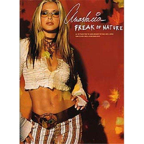 Anastacia: Freak Of Nature. Für Klavier, Gesang & Gitarre(mit Griffbildern)