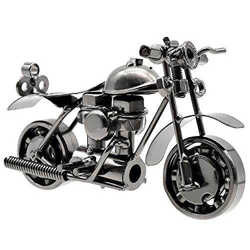 Bakiauli Modell Motorrad Eisen,Klassische Motorräder Modell für Home Office Dekoration