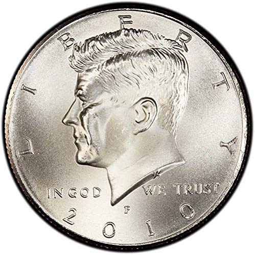 2010 P Satin Finish Kennedy Half Dollar Choice Uncirculated US Mint