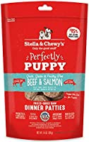 Stella & Chewy's Beef & Salmon Perfectly Puppy Freeze Dried Dinner Patties 14oz