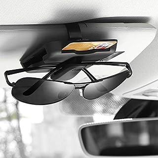 Cacys-Store - Car Sun Visor Sunglasses Clip Card Holder For SEAT Leon 1 2 MK3 FR Cordoba Ibiza Arosa Alhambra Altea Exeo Toledo Formula Cupra