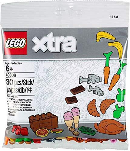 Lego xtra 30 teiliges Set Thema Essen - 40309