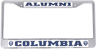 Columbia University Alumni Chrome License Plate Frame