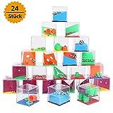 Sporgo 24 Stück Geduldsspiele Mini Denkspiel,Geduldspiele Mit Kugeln Kindergeburtstag Geduldsspiel Kinder Geschicklichkeitsspiel,Geduldsspiele Für Kinder Mitgebsel (24 Stück)