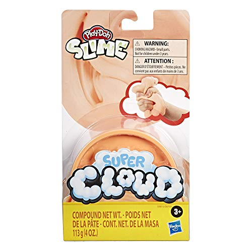 Play-Doh Super Cloud Single Can of Orange Fluffy Slime Compound for Kids 3 Years & Up