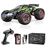 Hosim Large Size 1:12 Scale High Speed 46km+/h 4WD 2.4Ghz Remote Control Truck 9156, Radio Controlled Off-Road RC Car Electronic Monster Truck R/C RTR Hobby Grade Cross-Country Car (Green)