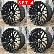 19 inch x 8.5 Wheels Rims Matte Black Compatible with BMW F30 3 SERIES 328/35/20 XDRIV Bolt Pattern 5x120 Set of 4