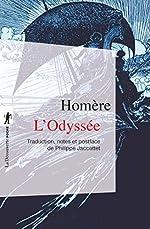L'Odyssée - Prepas scientifiques 2017-2018 - Edition prescrite de HOMÈRE