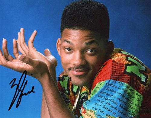 LIMITED EDITION ZAL FRESH PRINCE SIGNED FOTOGRAPH + CERT gedrukt AUTOGRAPH