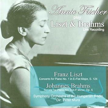Annie Fischer Play Liszt & Brahms (Live)