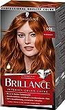 Brillance Intensiv-Color-Creme Haarfarbe 921 Kupferrot Stufe 3, 3er Pack(3 x 160 ml)