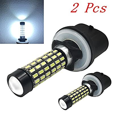 Efoxcity 880 Extremely Bright 3014 78-SMD 880 890 892 LED Bulbs For Car Fog light