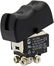KEDU HY29C Toggle Switch Electrical Switches for Appliances Equipment 125/277V 20/15A 1.5HP Double Pole, Black (HY29C)