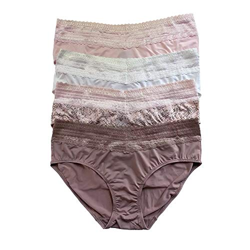 Warner's Women's No Pinches No Problems Hipster Panty 4-Pack