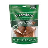 DreamBone Holiday Ham 6 Count, Made with Real Chicken, Rawhide-Free Chews for Dogs
