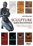 Sculpture - Guide des finitions, Pierre, Terre cuite, Bois, Métal, Plâtre, Résine, Ciment