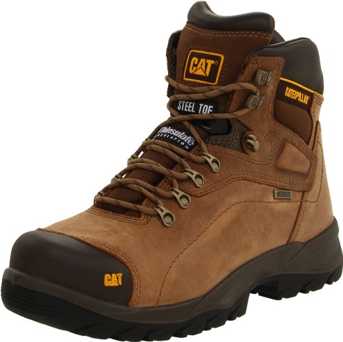 Caterpillar Men's Diagnostic Steel-Toe Waterproof Boot,Dark...