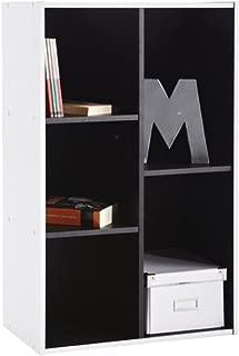 Abitti Estantería librería 5 Compartimentos. 50x80cm.