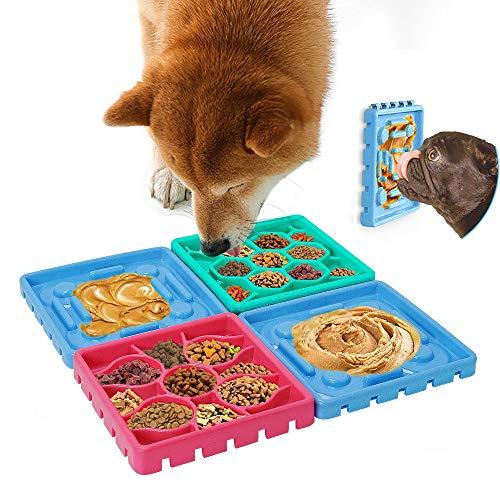 Anti Schling Napf Hundenapf, langsam Fütterung Hundenapf,Interessanter interaktiver Slow Feeder Hundenapf,Slow Feeder Hundenapf