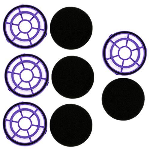 Beada para PUPPYOO D-526 Partes de aspirador filtro HEPA D526 filtros de polvo piezas de repuesto accesorios, 4 unids