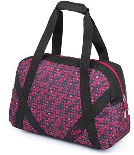 LOAP ARTEMIA Fashion Handtas Roze Zwart Duurzaam Verstelbaar Sportstijl