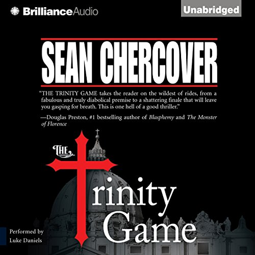 The Trinity Game audiobook cover art