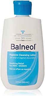 Balneol Hygienic Cleansing Lotion, 3 oz (Bundle of 12)