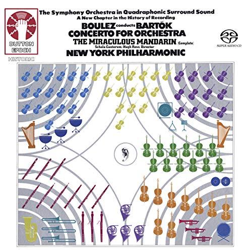 Pierre Boulez Conducts Bartok: Concerto for Orchestra [SACD Hybrid Multi-channel]