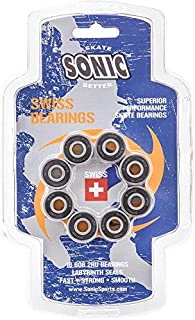 Sonic Swiss Inline Skate Bearings - SUPERIOR PERFORMANCE