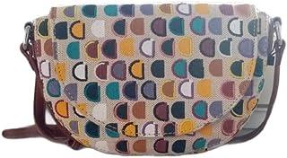 Desigual Womens Fabric ACROSS BODY BAG, White, U