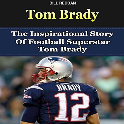 Tom Brady audiobook cover art