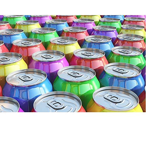 Getränke Box (30 Dosen, Mischkarton mit light/zero ohne Energy Drinks, Dosen mit Beulen, kurzes MHD ) A2 Text lesen
