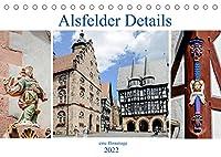 Alsfelder Details - eine Hommage (Tischkalender 2022 DIN A5 quer): Impressionen aus Alsfeld (Monatskalender, 14 Seiten )