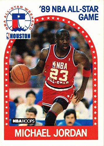 1989-90 NBA Hoops #21 Michael Jordan Basketball Card - All-Star Game