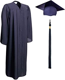 Adult and Teen, Unisex, Matte Graduation Gown, Cap and Tassel Set Incl 2020/2021 Signets, Multiple Colors and Sizes