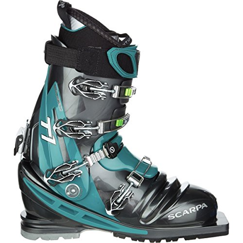 SCARPA T1 Telemark Boot Anthracite/Teal, 26.0