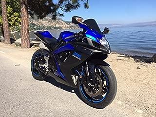 VITCIK (Fairing Kits Fit for Suzuki GSX-R750 GSX-R600 K6 2006 2007 GSXR 600 750 K6 06 07 Plastic ABS Injection Mold Complete Motorcycle Body Aftermarket Bodywork Frame (Blue & Black) A090
