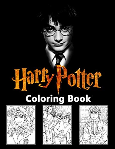 Harry Potter Coloring Book: Hogwarts Magic School Coloring Books for Adults, Kids and Teenagers