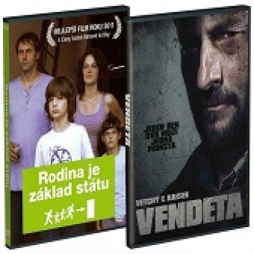 DVD Filmy - Rodina je zaklad statu + Vendeta