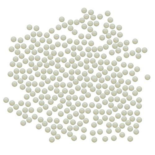 FLAMEER 350 Stücke 10mm Glasmurmeln, Spielzeug, Deko Kugeln Durchsichtig Klare Glasmurmeln, Dekoration Glaskügelchen