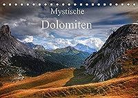 Mystische Dolomiten (Tischkalender 2022 DIN A5 quer): Traumreise in die mystische Welt der zauberhaften Dolomiten. (Monatskalender, 14 Seiten )